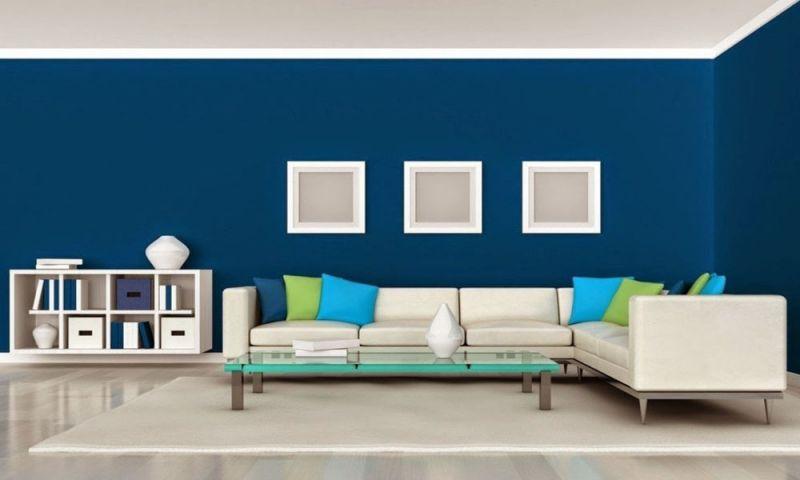Warna Biru Langit Atau Laut Dapat Memberikan Kesan Yang Tenang Serta Nyaman Jika Diterapkan Pada Dinding Membuat Ruangan Terlihat